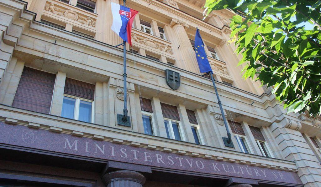 budova ministerstva kultúry